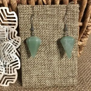 Aventurine Earrings 30 cts
